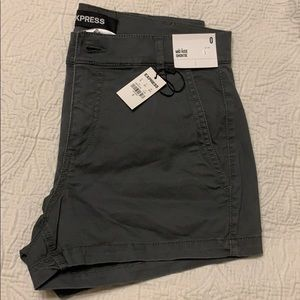 NWT- Express Mid Rise Shorts- size 0